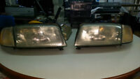 Audi A4 Headlights and Tail lights.