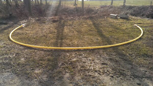 2 inch yellow natural gas pipe