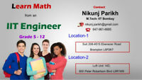 Math Tutor-Two Locations in Brampton-- Ebenezer Road and Bovaird