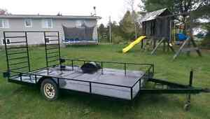 Trailer for sale 12x7