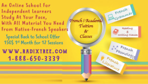 Fully Experienced Tutors Here To Help You With French Online .