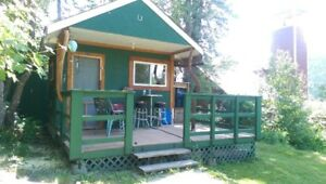 CASH BACK! SMALL CABIN/W LAKE VIEW MOYIE BC