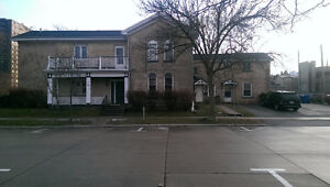 Large freshly painted one bedroom apartment besides City Hall
