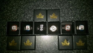 Molson nhl rings