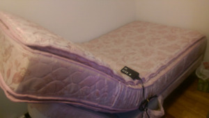 Moving sale: Electric single bed with massage feature