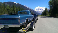 Do you need a car or truck hauled to B.C or within Alberta?
