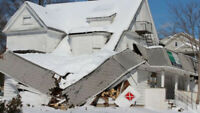 Deniegement des Toitures/ Snow Removal on Roofs