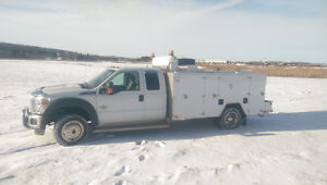2014 ford service truck like new
