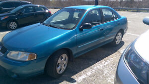 2003 Nissan Sentra XE Sedan for parts or repair