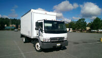 International 3 ton Cube Box Truck For Sale