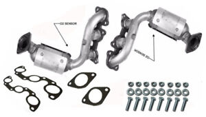 Toyota Sienna 3.3L Rear BANK1 Manifold Catalytic Converter 2004 2006 AWD