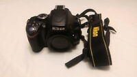 Nikon D5100 16.2 MP DSLR Camera Body + 2 Battery