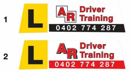 Magnetic Roof Sign Driving School - Driving Instructor,Pizza Sign