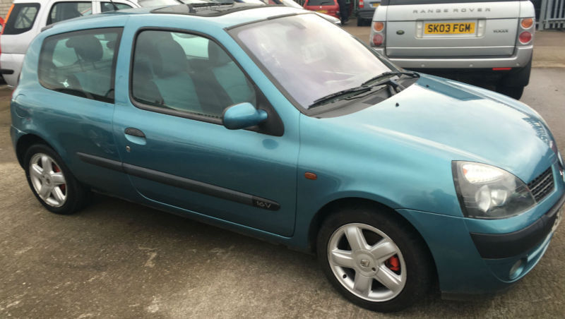 renault clio 1 2 16v extreme in ashington northumberland gumtree. Black Bedroom Furniture Sets. Home Design Ideas