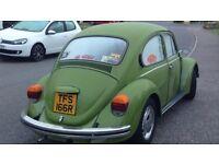 1976 1200cc Classic VW beetle