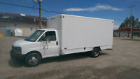 05 Chevy Express 3500 16ft Cube Van, $5995
