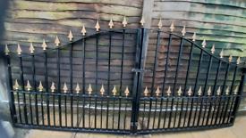 (URGENT) Gate- Wrought Iron Driveway Gate