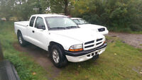 2003 Dodge Dakota Ext Cab, Ex Fleet Truck, 170K, C/W Warranty