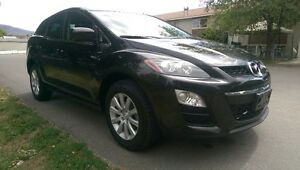 2012 Mazda CX-7 Cloth SUV, Crossover one owner -factory warranty Downtown-West End Greater Vancouver Area image 4