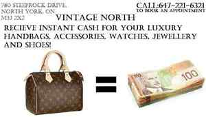 TOP CASH FOR LOUIS VUITTON CHANEL GUCCI TIFFANY CARTIER