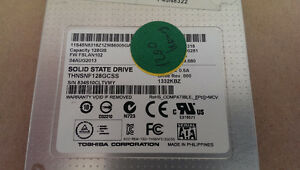 "Toshiba 2.5"" 128 GB Internal Solid State Drive (SSD)"