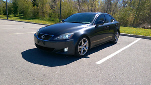 2007 Lexus IS250, RWD, six speed manual, with 168,000km IS 250