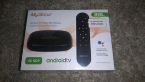 My Gica 4k Android Tv player