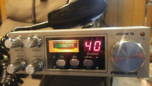 **READ AD**President John Q CB Radio - 70.00 FIRM