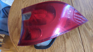 Civic Coupe driver's side rear light.