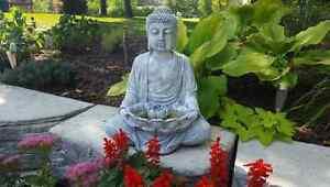 Large garden Buddha Statue Concrete/Cement