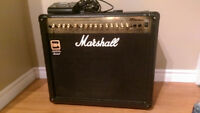 Marshall MG Series 100DFX Amplifier w/foot switch