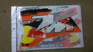 KTM 85 sx red bull factory graphics