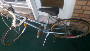 2 Bicycles--Raleigh and Tour du Quebec