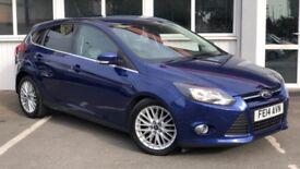 Ford Focus ZETEC (blue) 2014