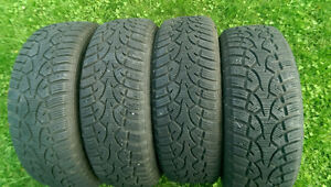 Mazda3 winter tires with alloy rims in very good condition