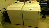 Maytag Front Load Washer and Gas Dryer