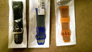 NEW Fitbit Ionic silicone straps. Only 3 colors left