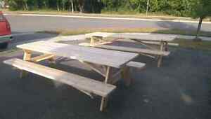 Cedar picnic table (built and ready for sale) Peterborough Peterborough Area image 10