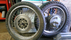 Cb750 chopper rims
