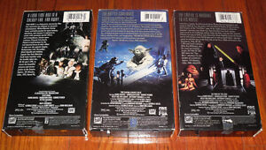 Star Wars Trilogy 1992 release of the original trilogy movie set West Island Greater Montréal image 2