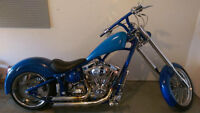 2010 custom softail chopper