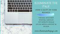 Virtual Assistant, Writing Services, WP Website Design and more