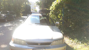Honda Accord- Great on gas! Good Student car or for parts