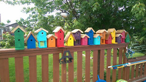 16 Lobster Shanty Birdhouses sold as set