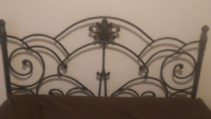 Iron Style Head Board. Queen Size