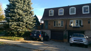 SEMI for Rent available Dec 1/16 or Jan 1/17 Kitchener / Waterloo Kitchener Area image 1