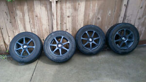 MSR Rims with 2 sets of summer/winter Tires