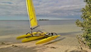 END OF SEASON SALE:  SAIL-YAK Outrigger Sailing Kayak...._)*....