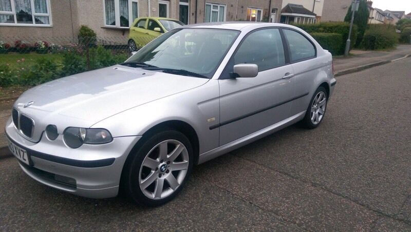 BMW 318ti Compact, 2003 (03 plate), 2.0 litre 143 bhp model, silver ...