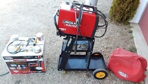 LINCOLN WELDER Mig Pac 140, many extras, nearly new.